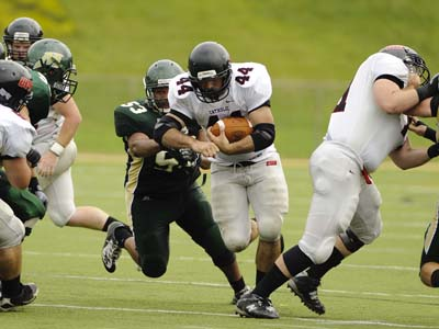 Fucillo's late INT seals 24-15 road win for CUA