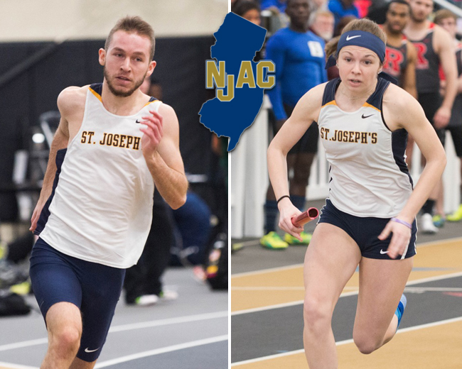 Linbrunner, Holownia Named NJAC Track and Field Athletes of the Week