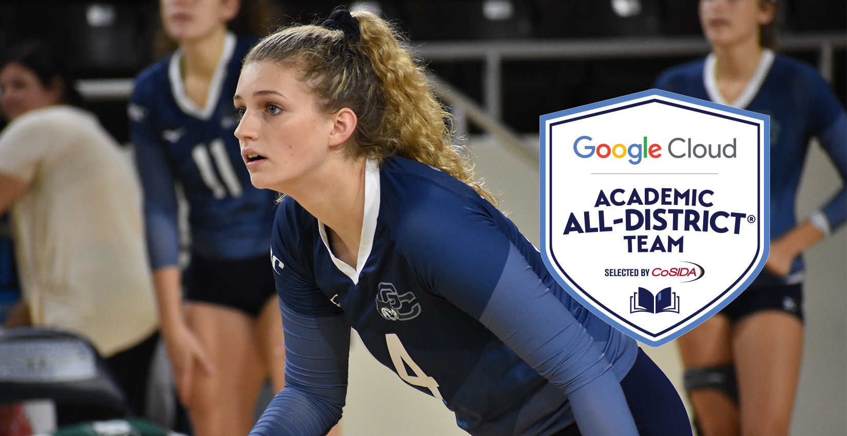 Bochniak named to Academic All-District Team for Volleyball