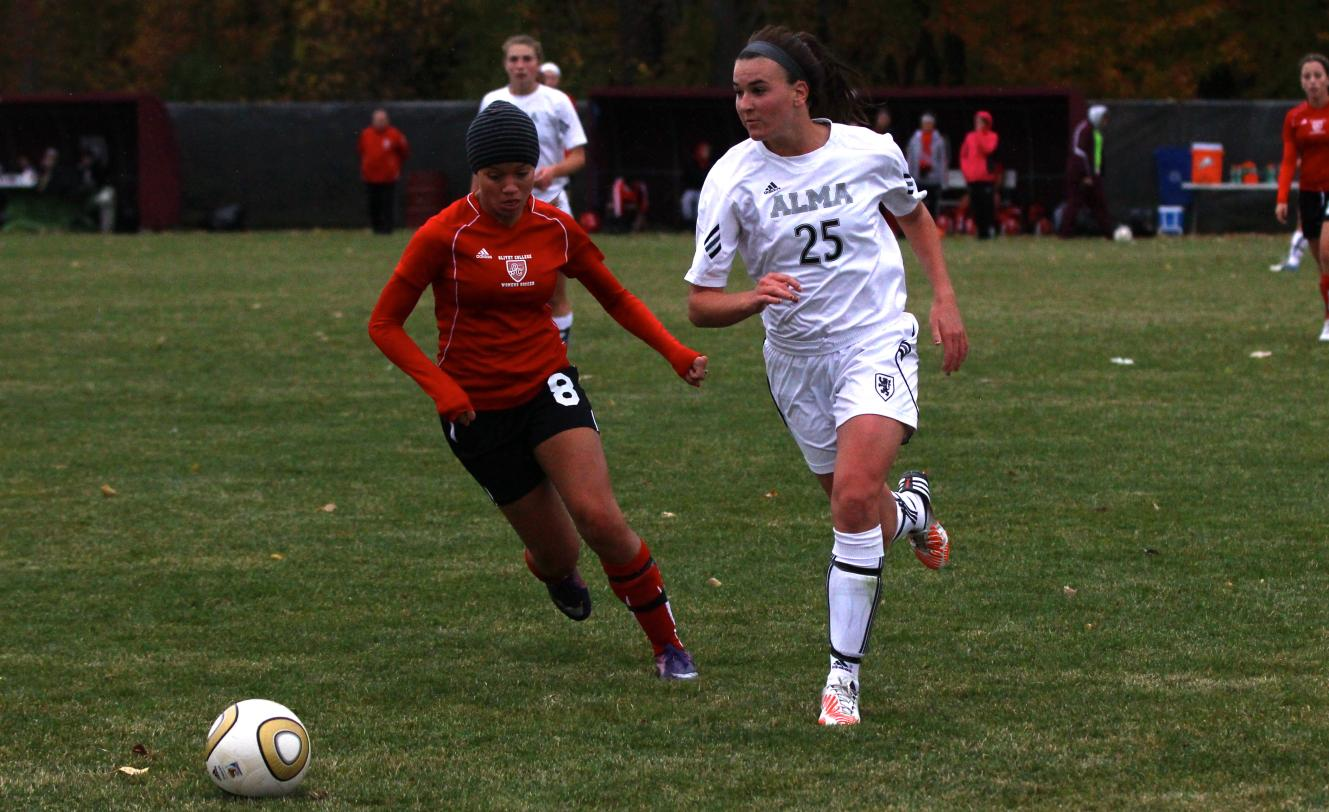 Scots Women's Soccer defeats Trine University on Wednesday to earn a berth in the MIAA Tournament