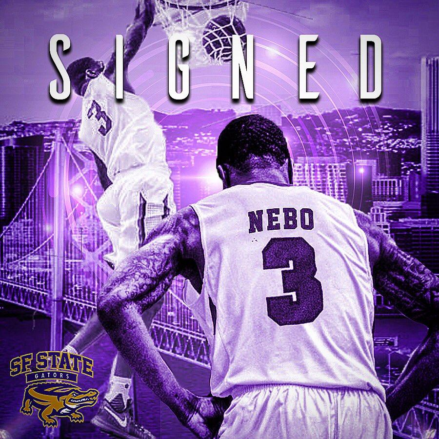 Brian Nebo signed with San Francisco State