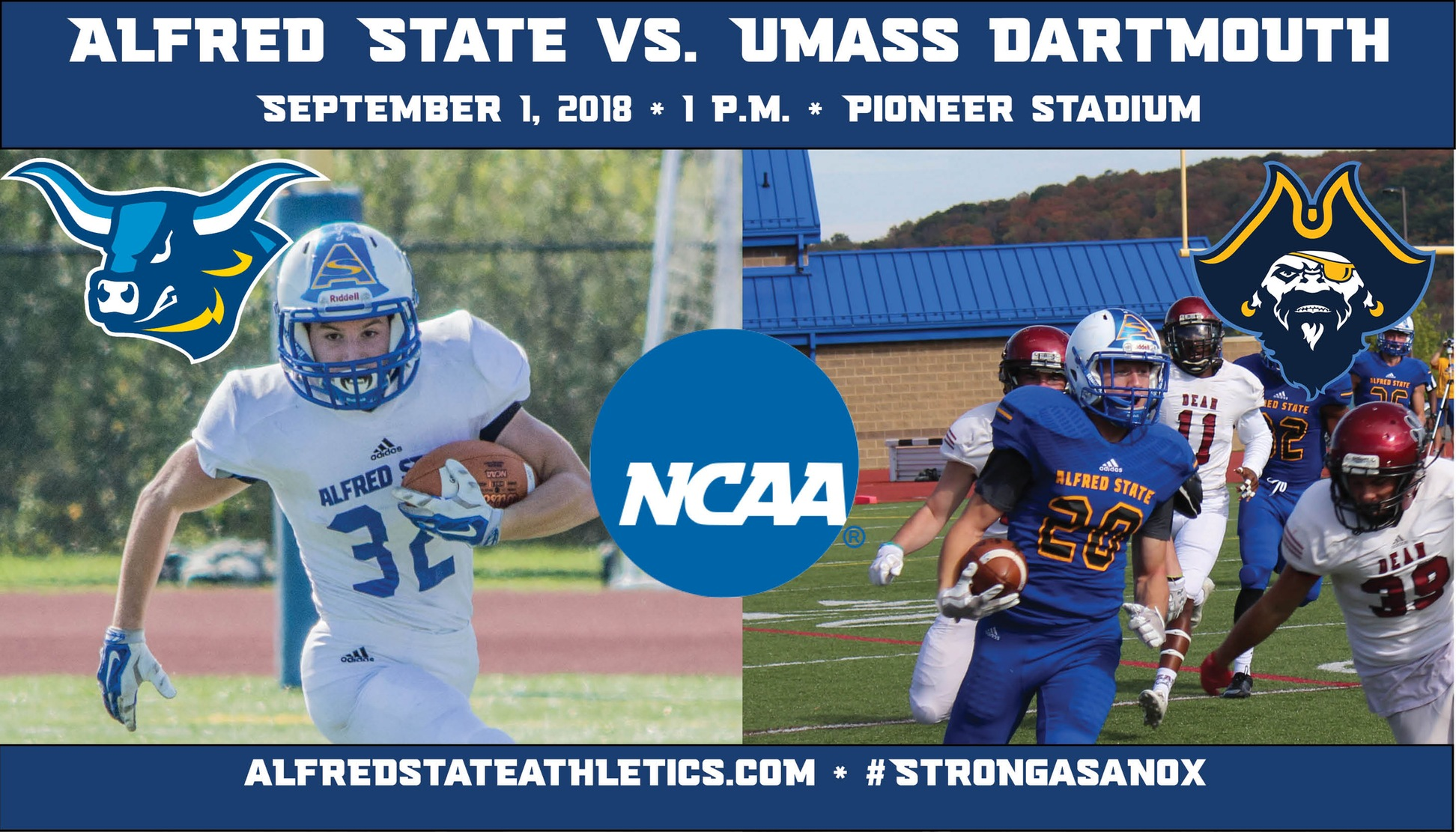 Alfred State vs. UMass Dartmouth Football Game Preview