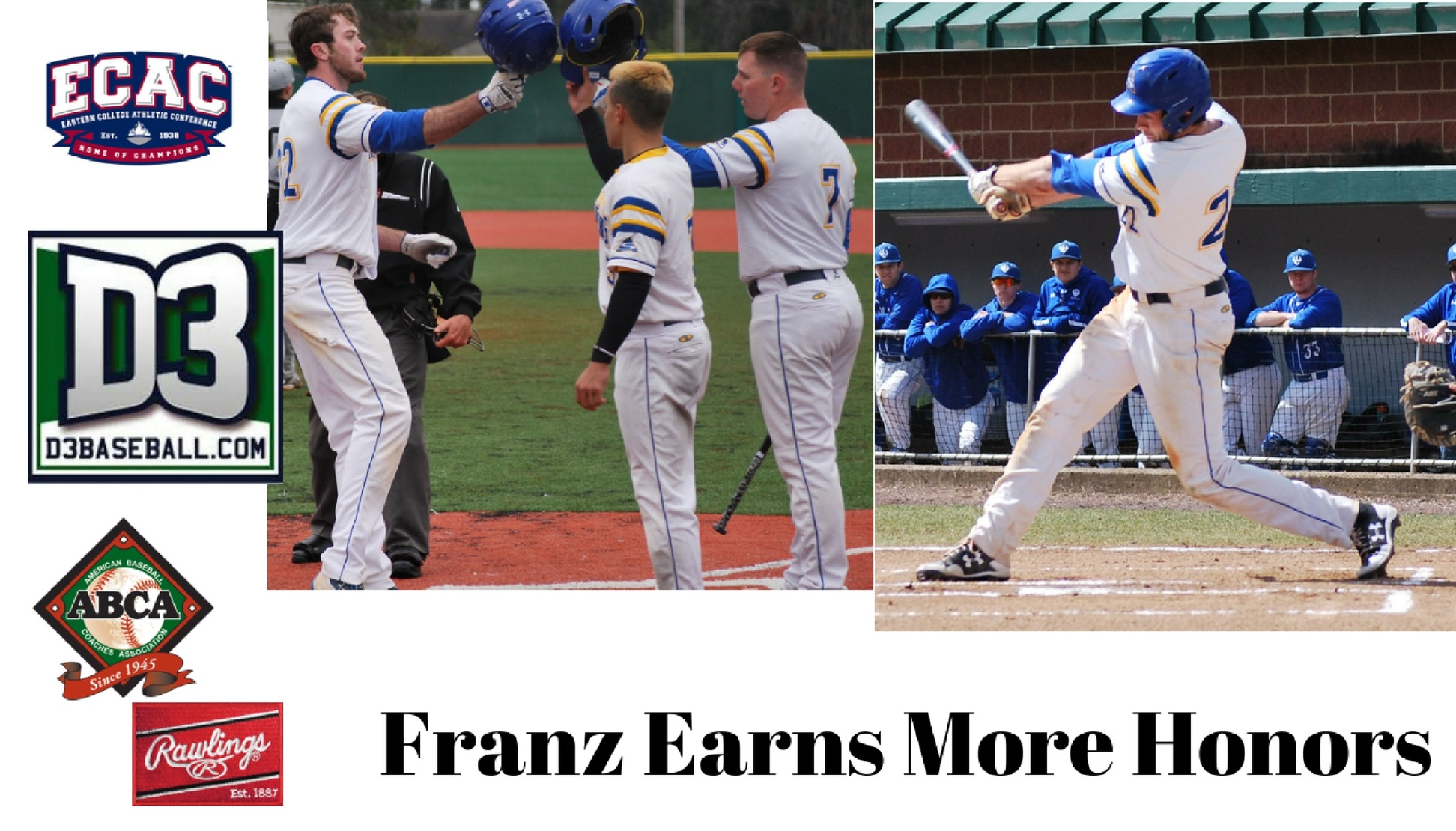 Franz Earns More Honors
