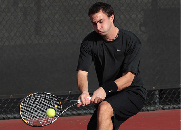 No. 47 Men's Tennis Finishes As Runner-Up At WCC Championship