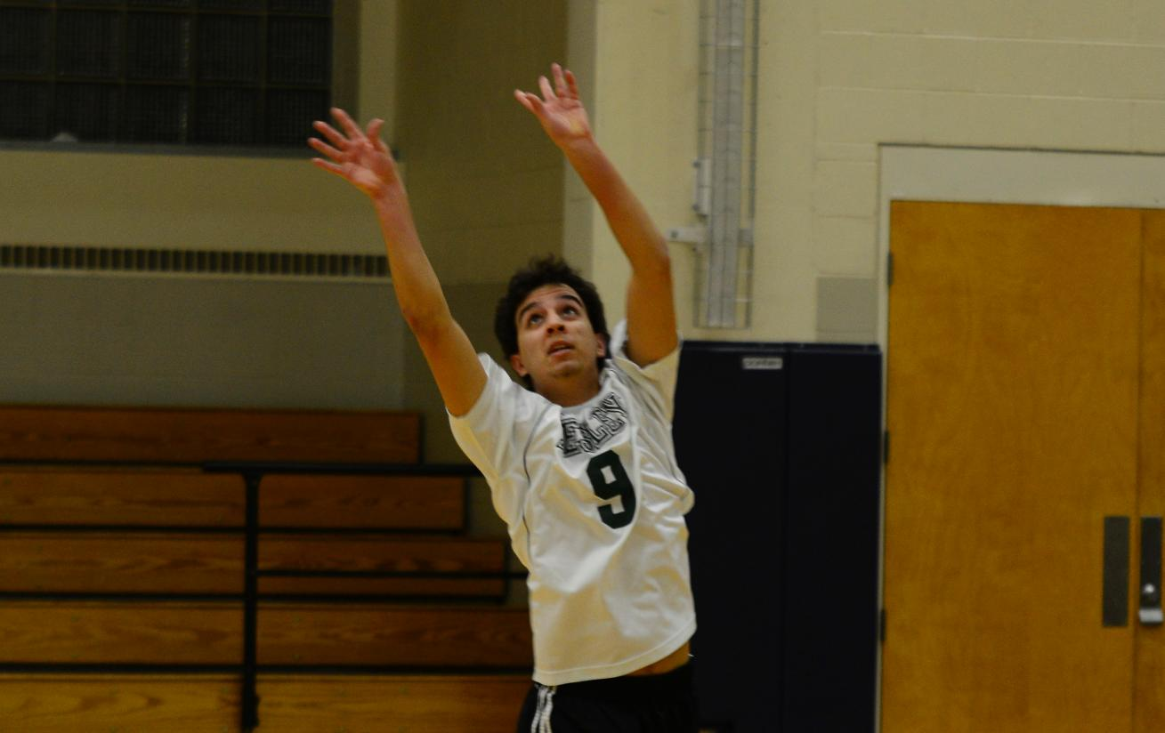 Men's Volleyball Downed at Lasell in Non-Conference Bout