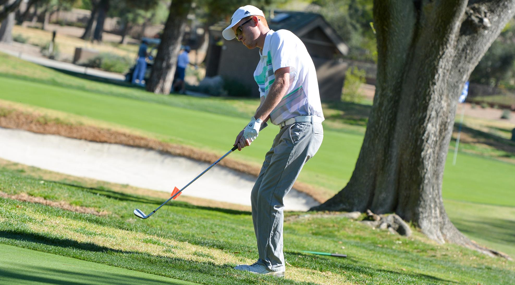 Spencer wins, Men's Golf finishes 3rd at SCIAC No. 2