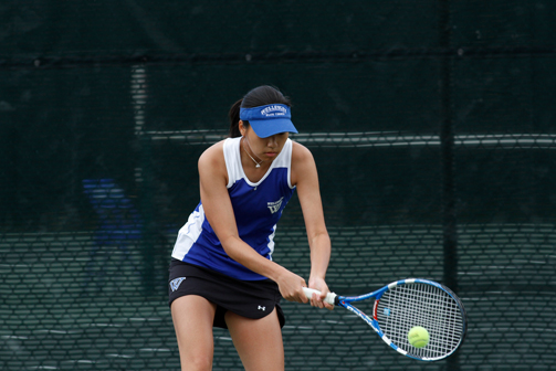 #24 Brandeis Nips Wellesley Tennis to Close Nor'Easter Bowl
