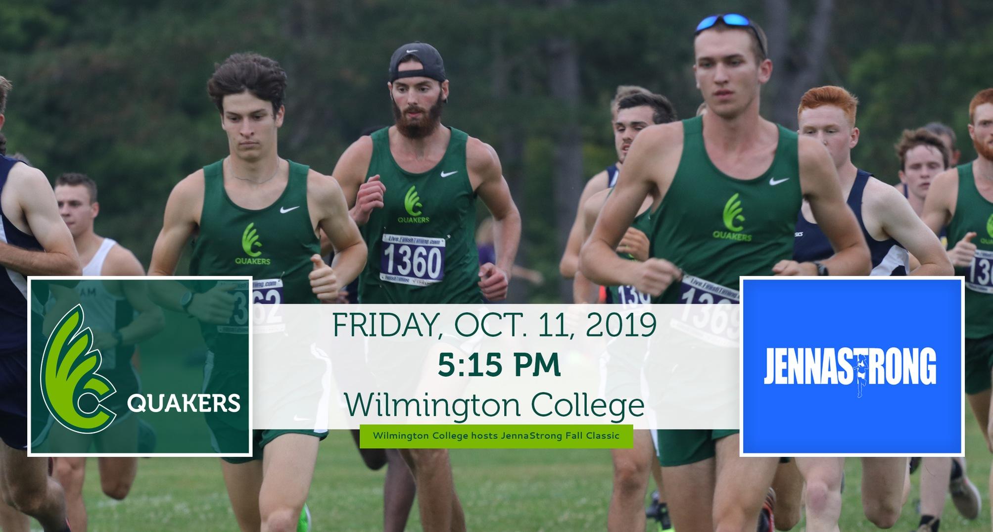 Men's Cross Country to Host JennaStrong Fall Classic Friday