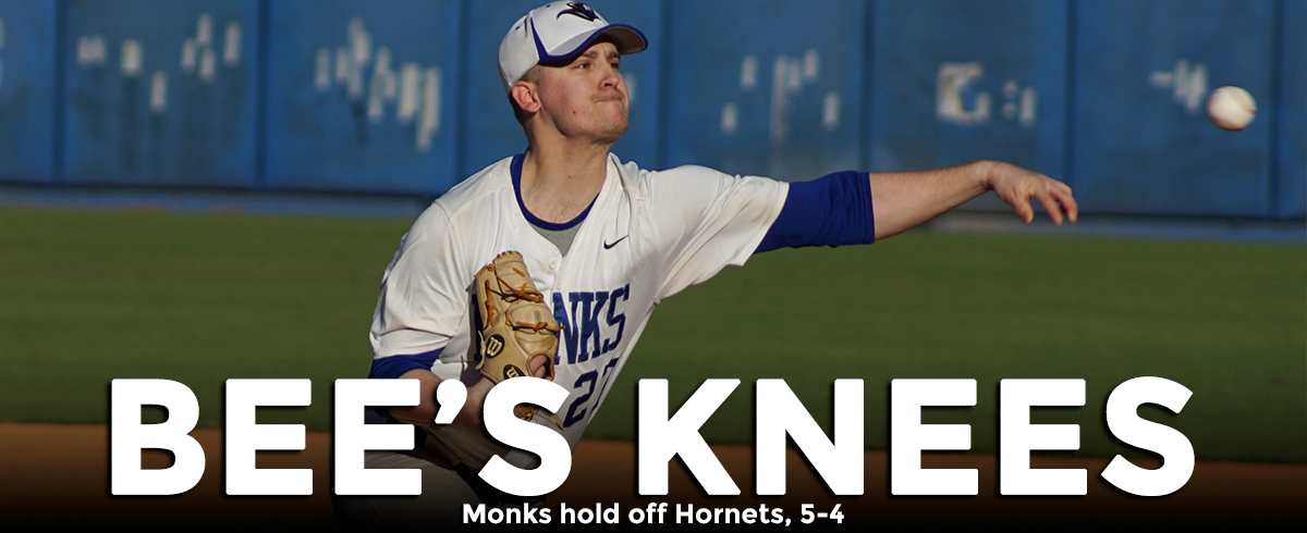 Monks Hold Off Hornets, 5-4