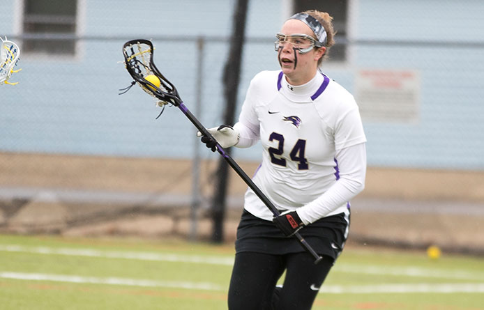 Women's lacrosse forges past Southern Connecticut State, 15-13