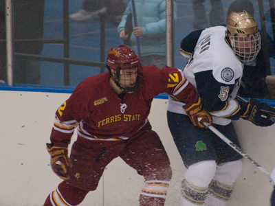 Ferris State Posts 5-2 Series-Opening Decision Over Notre Dame