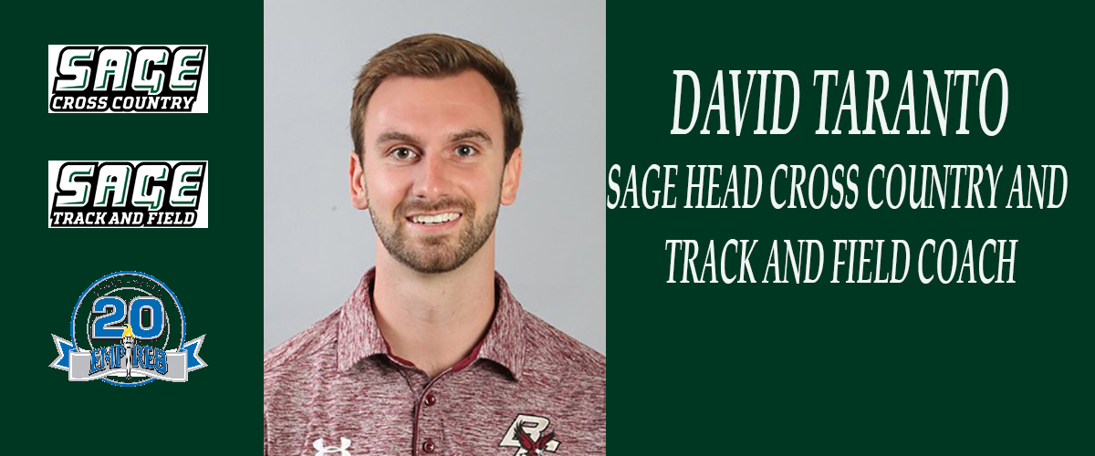 Taranto tapped to direct Sage Cross Country and Track and Field Programs