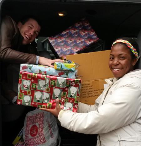 Sage SAAC and Guardians Make Donation to Toys for Tots