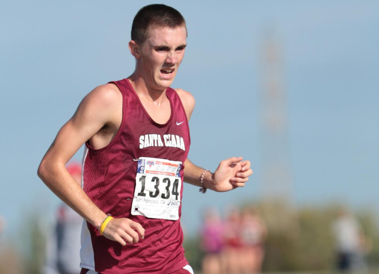 Austin Jones Standing Out for Santa Clara's Cross Country Team