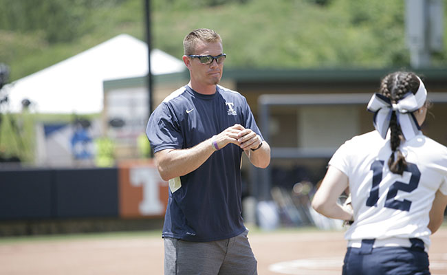 Trine Rewards Softball Coach with Contract Extension