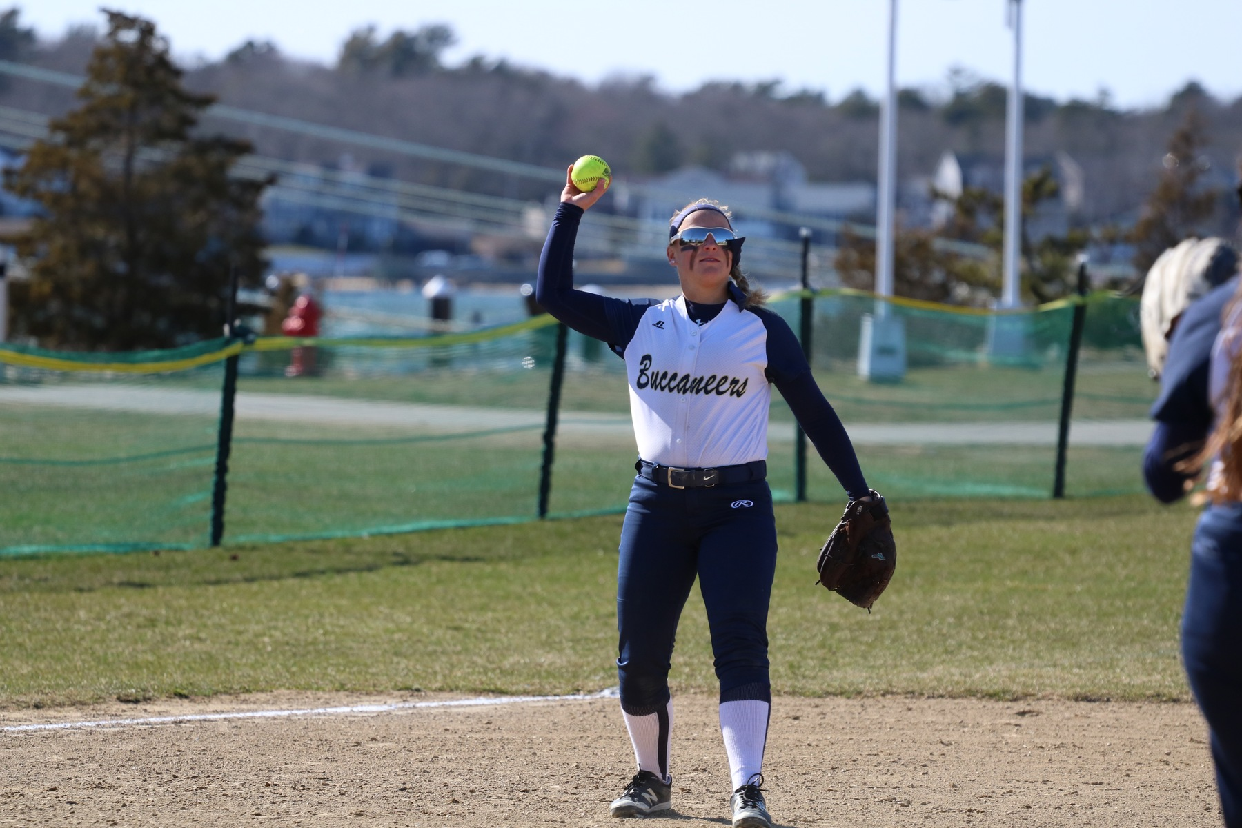 Hawks Sweep Bucs in Non-Conference Doubleheader