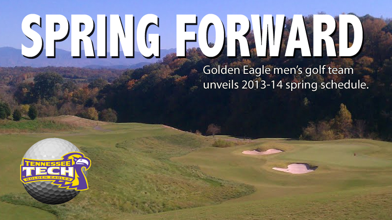 Tech men's golf unveils 2013-14 spring schedule