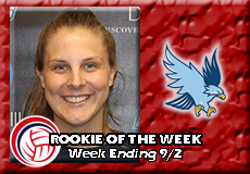 Katherine Pickard-Roger Williams, Women's Volleyball: Rookie of the Week