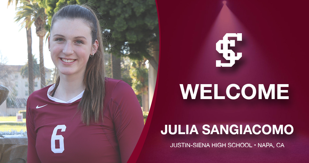 Meet the Future of Santa Clara Volleyball – Julia Sangiacomo