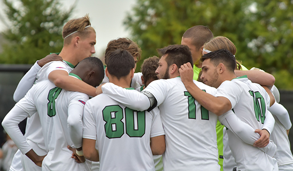 Three Second Half Goals Sink Wilmington Men's Soccer, 3-2, to Georgian Court in CACC Semifinals