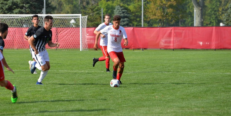 #22 Cardinals fall at home to Parkside, 1-0
