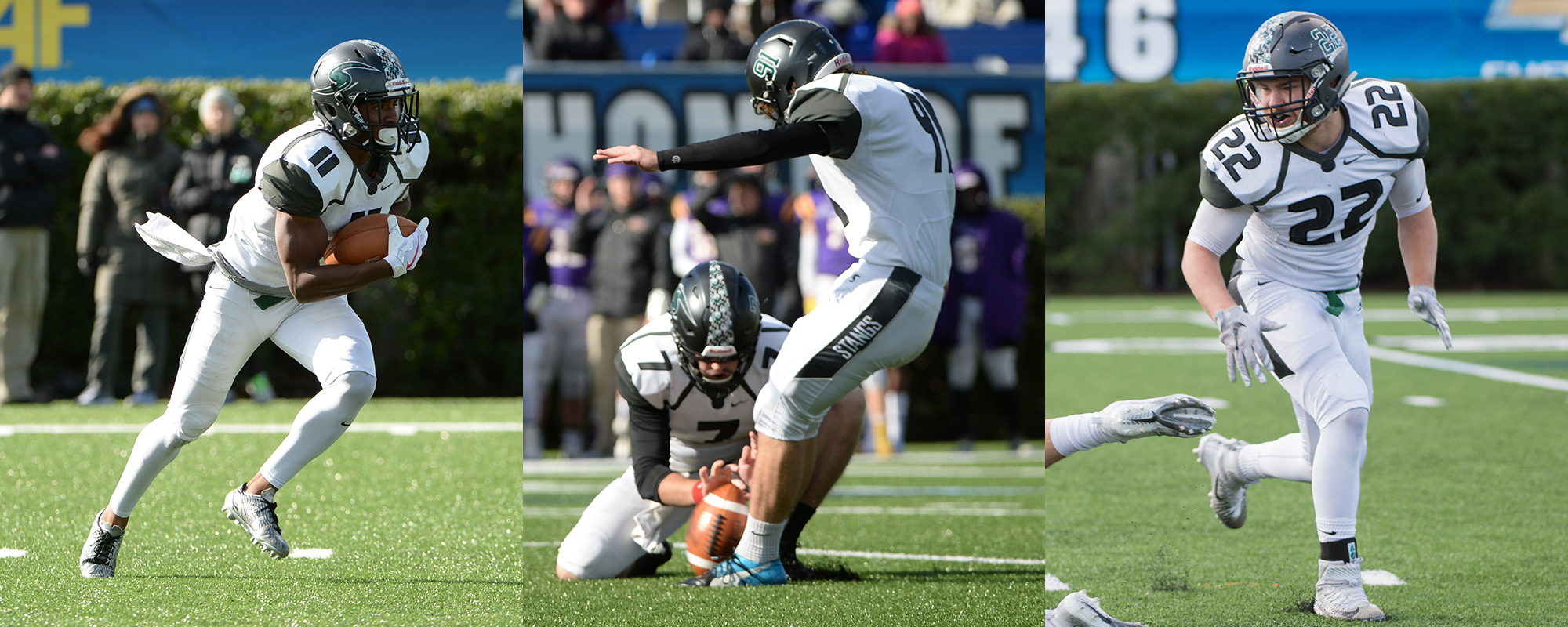 Pietrzyk, Gould, Addo Honored as ECAC All-Stars