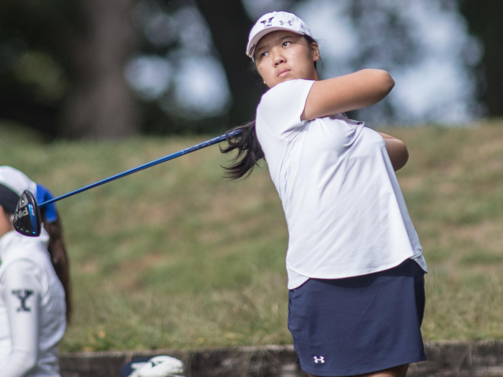 Peng Leads Bulldogs in Third Round of Harvard Invitational