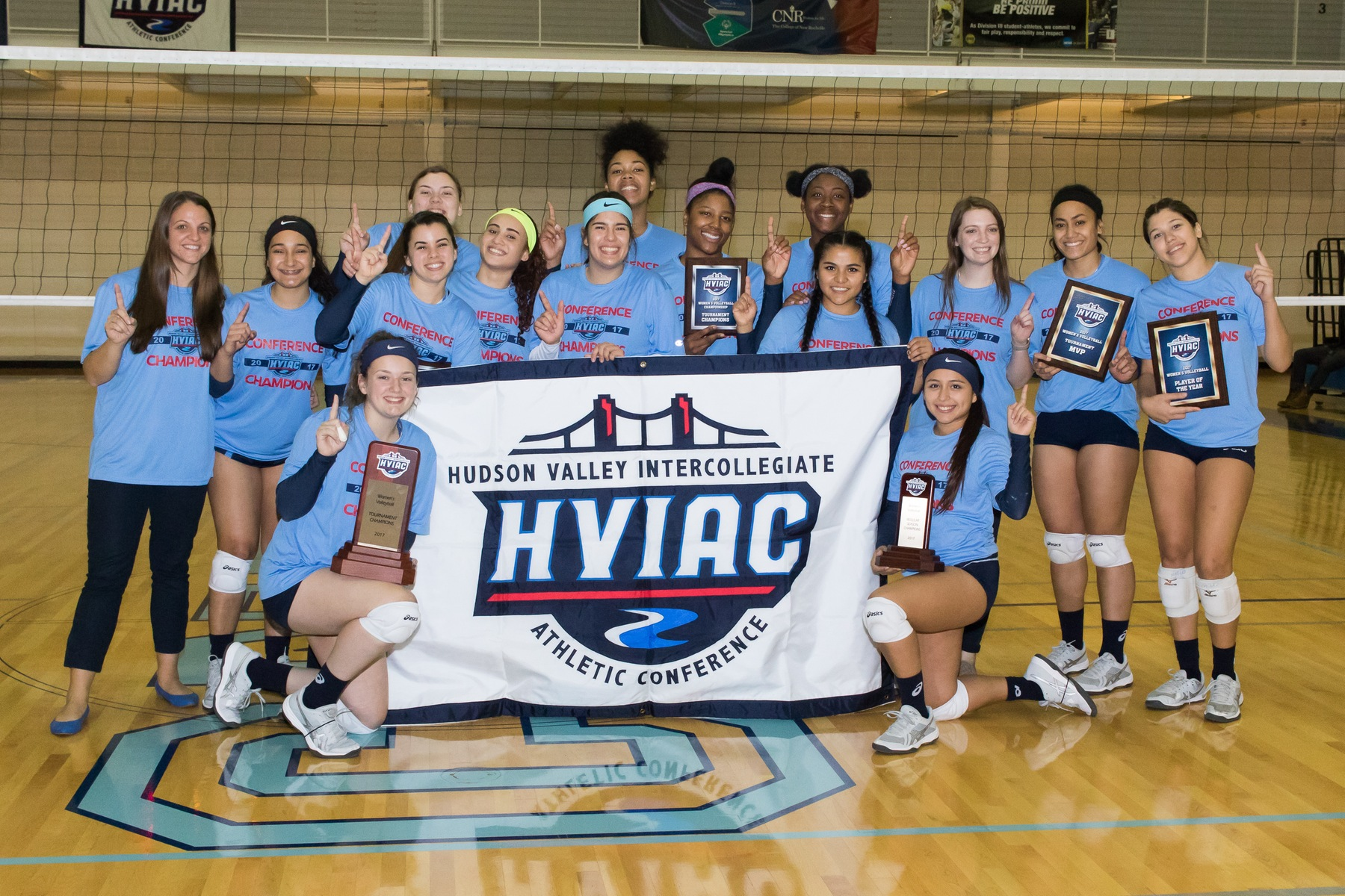 New Rochelle Claims Fifth Straight Women's Volleyball Title