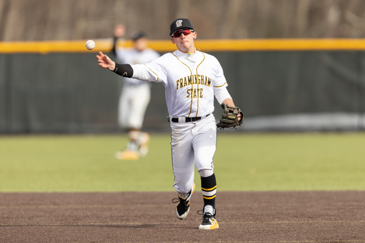 Ambrosino Homer Powers Baseball Past MCLA 5-1