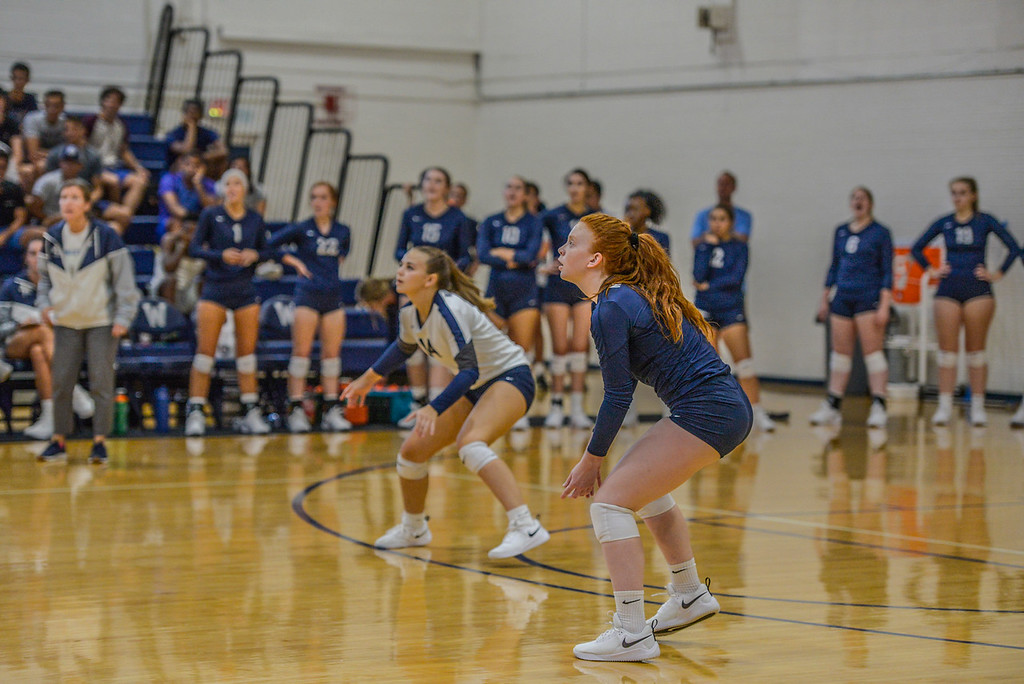 Volleyball Falls in 4 sets to Emory & Henry