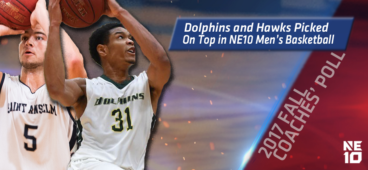 Le Moyne, Saint Anselm Picked Atop NE10 Men's Basketball Coaches' Poll