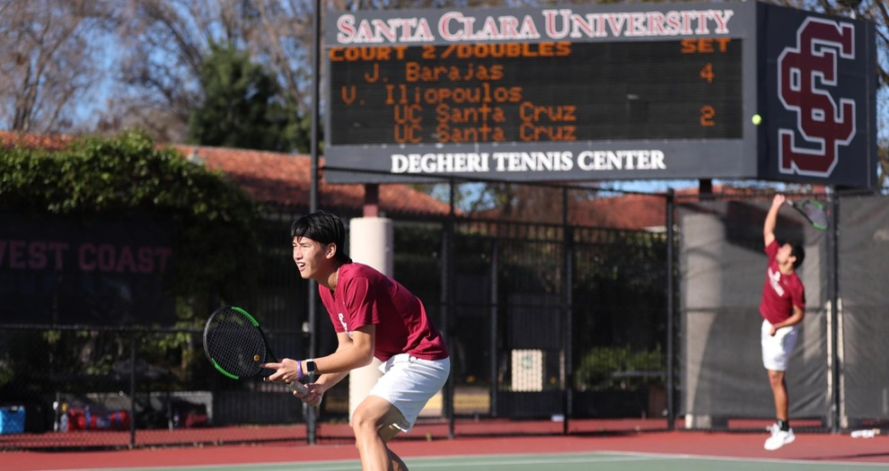 Men's Tennis Hosts Two Matches on Sunday in Spring Season Home Opener