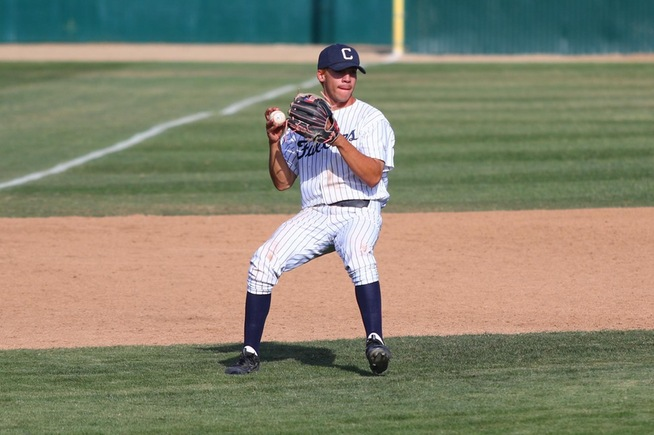 File Photo: 3B Jorge Rodriguez drove in four runs in the Falcons win