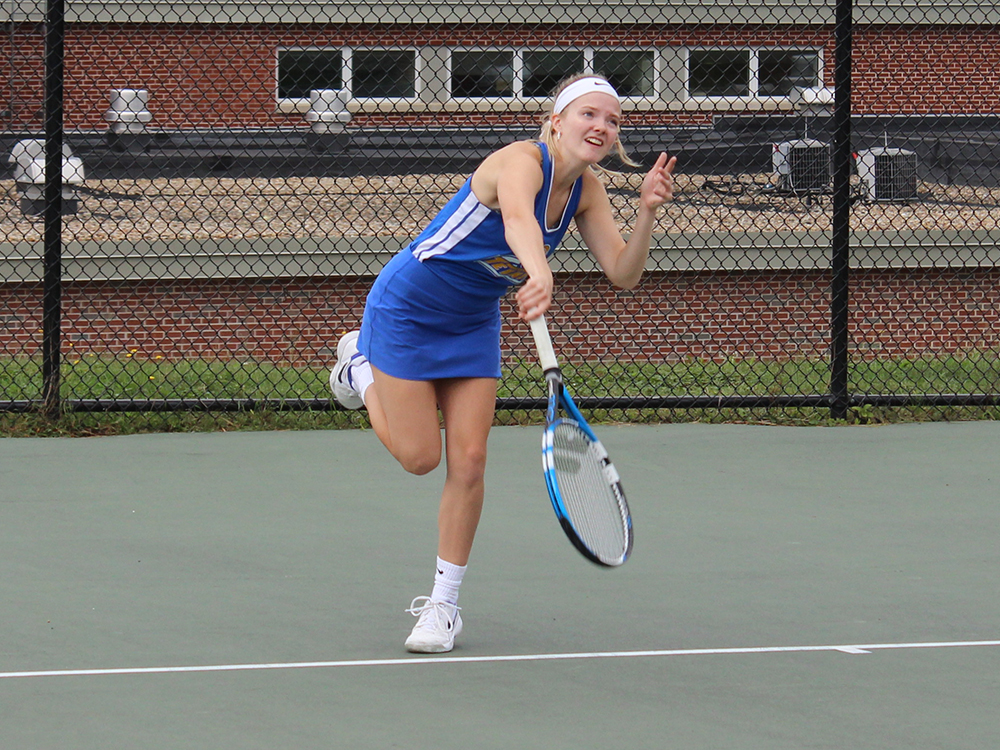 Tennis Grabs Little East Victory over Western Connecticut