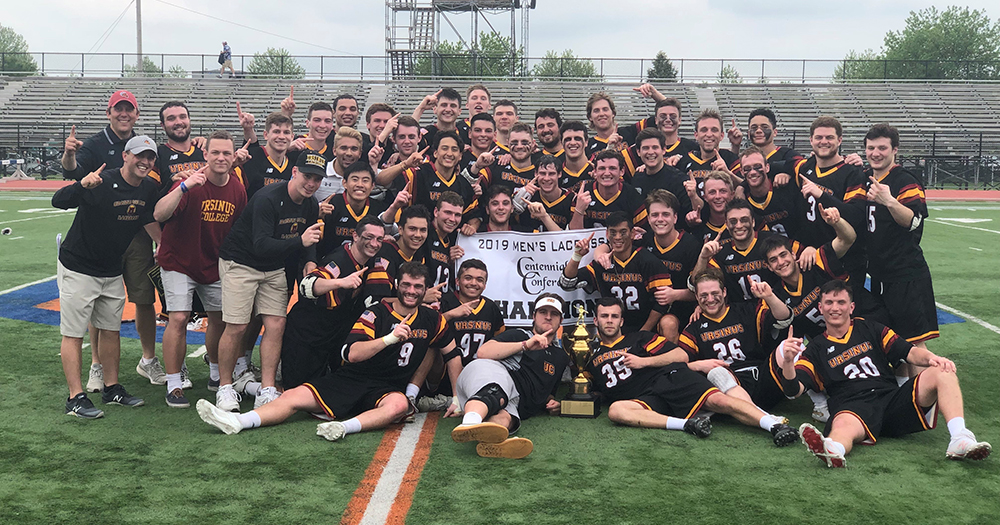 Men's Lacrosse: Centennial Conference Champs!