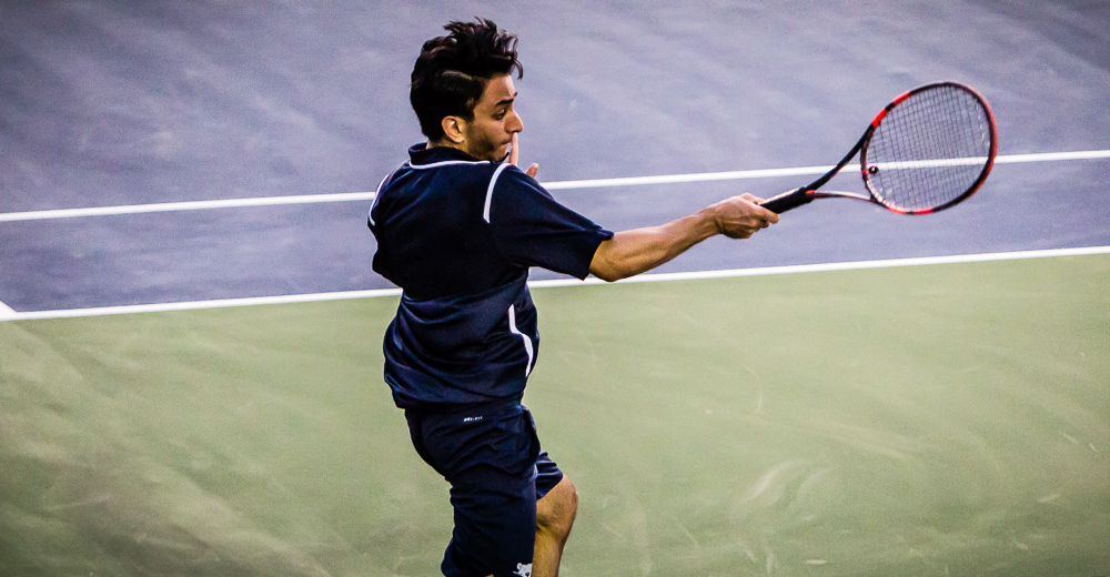 Men's Tennis Falls to Lehman, 8-1