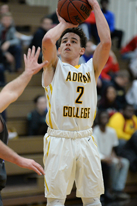 Sam Colbert, Adrian, Men's Basketball Player of the Week 2/5/18