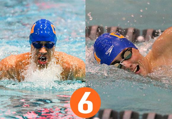 TOP MOMENT #6 – Sodemann, Rowe Make Splash on National Scene; Bears Place 2nd in NEWMAC