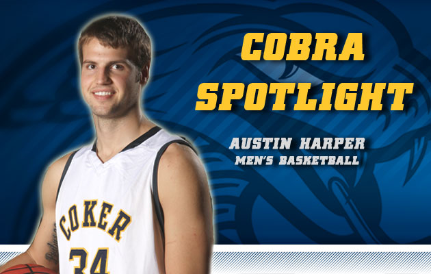 Cobra Spotlight- Austin Harper, Men's Basketball