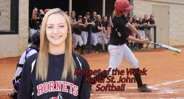 Q and A with Hornet of the Week Kayla St. John