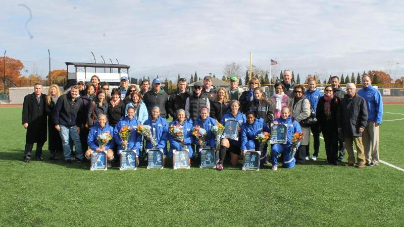 Women's Soccer Clinches NEC Berth on Senior Day