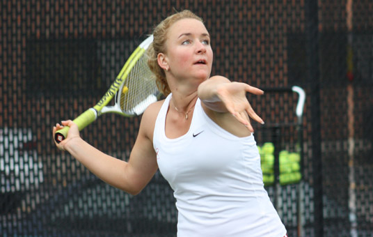 Penguins Earn Doubles Victory, Sadovnikova Picks Up Win at ITAs