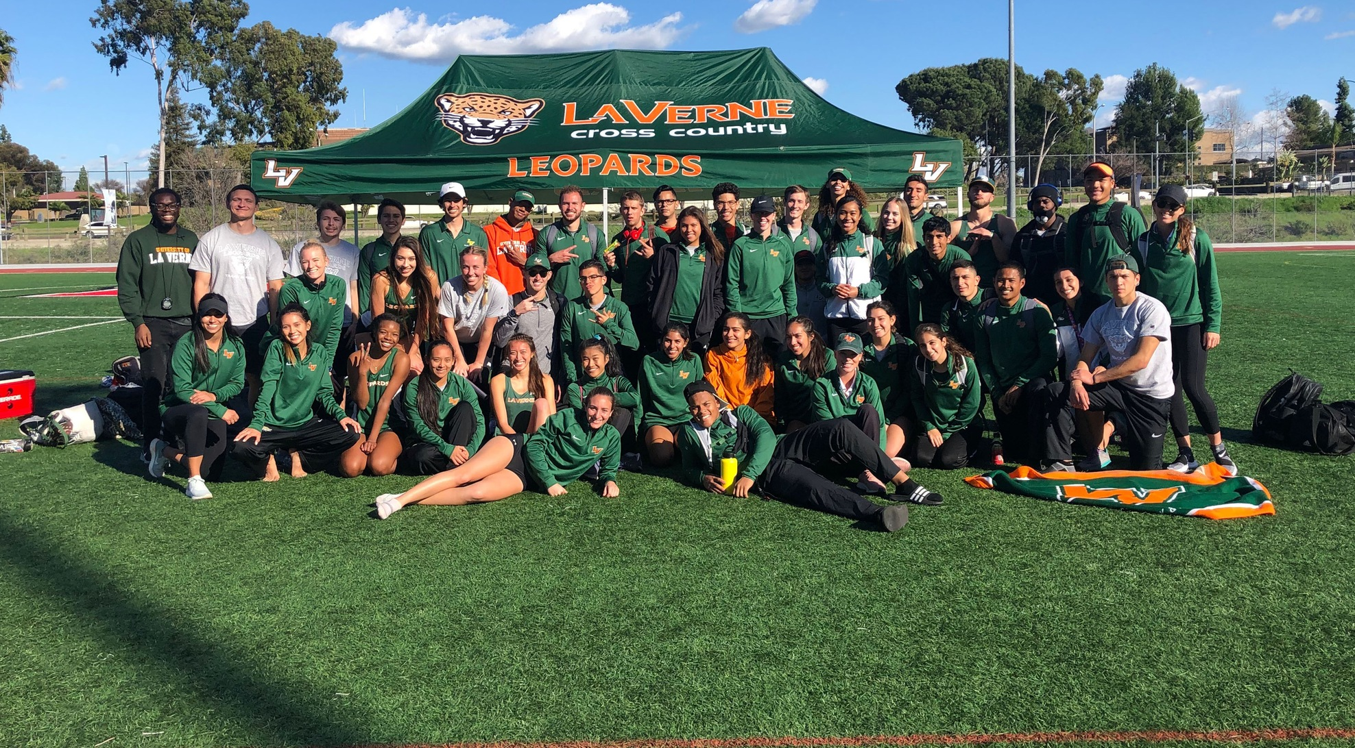 Men's Track and Field competes at DII Biola