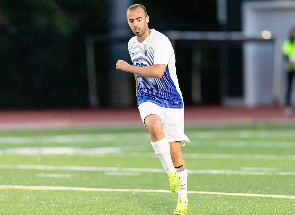 Men's Soccer Stymied in Double OT