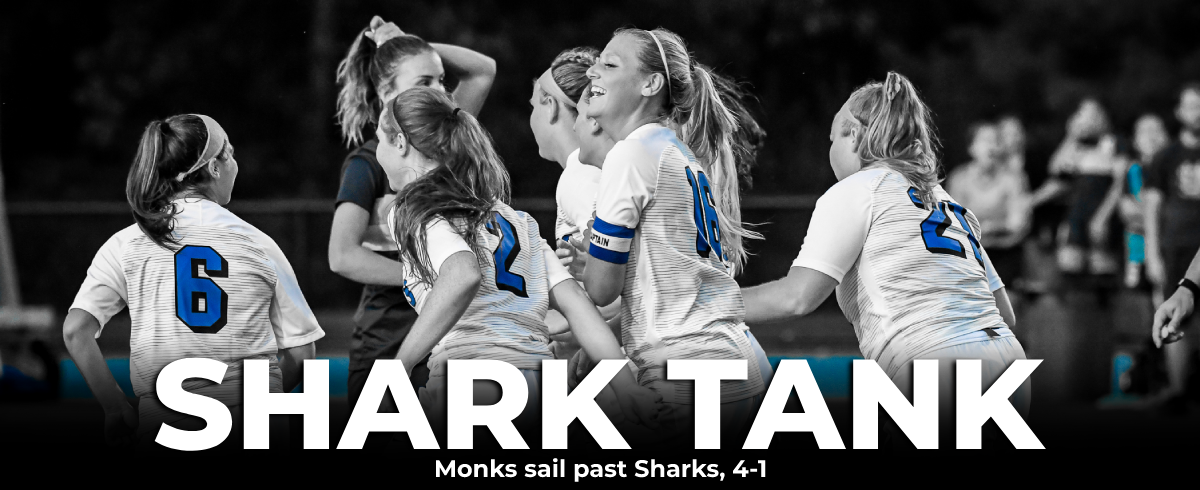 Murphy Scores Twice, Monks Defeat Sharks 4-1