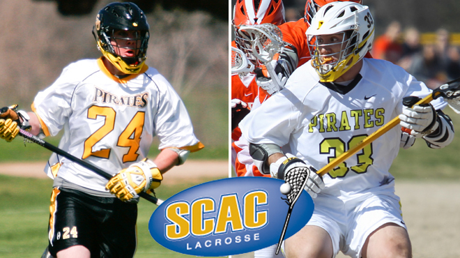 Southwestern's Zeiler, Downing Named SCAC Men's Lacrosse Players of the Week