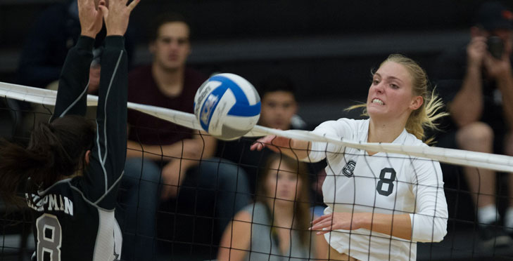 Oxy Volleyball Beats ULV, Jumps into Second Place