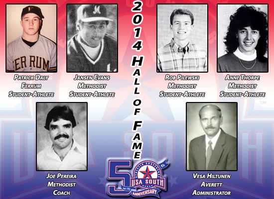 USA South Announces 2014 Hall of Fame Class