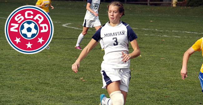 Schall Selected All-East Region Scholar by NSCAA