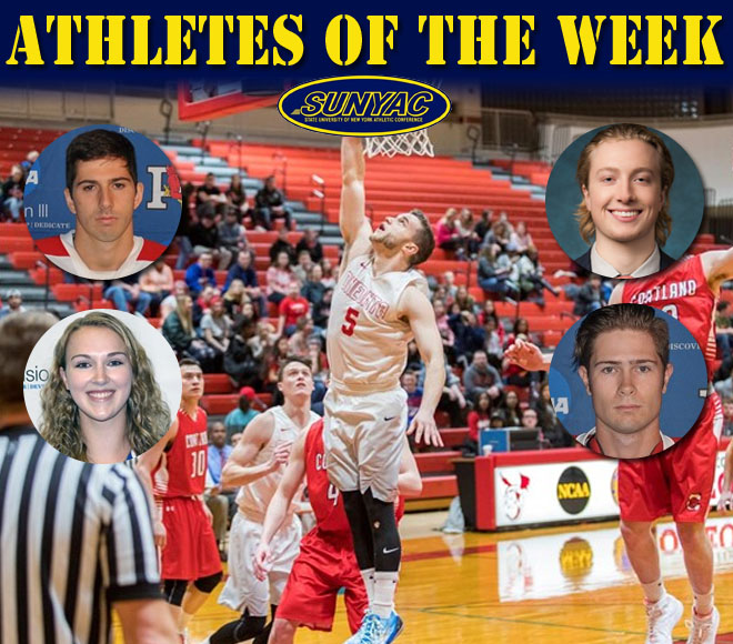 Basketball and ice hockey weekly awards released